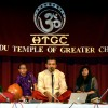 A concert was held on Saturday, May 9th 2015 at the HTGC Sama Rathi Auditorium organized by the Hindu Temple of Greater Chicago, Lemont.