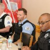 Devon Ave. Community Members share concerns with Police Commander & Alderman
