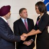 First Lady meets families of Gurdwara shooting victims