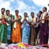 Agitation over the Poor Quality of Bathukamma Sarees