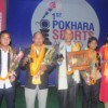 Footballer Heman Gurung and Spiker Manju Gurung Won Player of the Year Awards