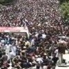 Thousands Attended Sabri's Funeral