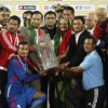 KP Sharma Oli Honors Nepal Football Team for Winning Bangabandhu Gold Cup