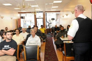 Devon ave 1 300x200 Devon Ave. Community Members share concerns with Police Commander & Alderman